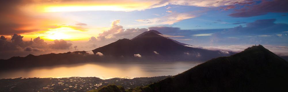 Stunning #sunrise at Gunung Batur in #Bali. #Indonesia #travel #landscape #photography